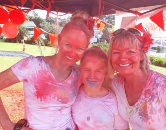 Fun at the Colour Run